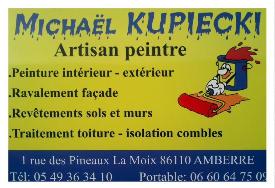 Entreprises implantées sur la commune d'Amberre